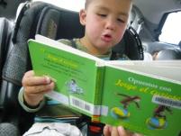 """When he read """"Jorge el Curioso"""""""